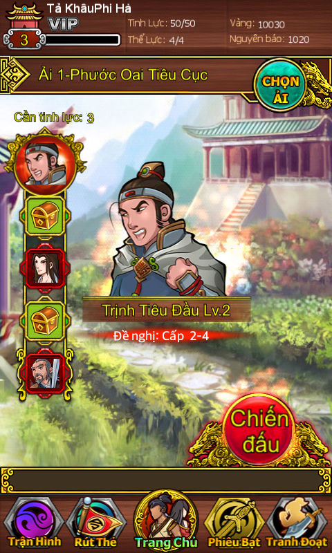 Bá Khí Giang Hồ - Game Đấu Thẻ Bài Tuyệt Đỉnh
